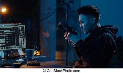 pirate informatique, virus, cyber, attaque, informatique, utilisation