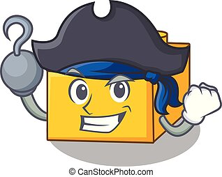 Pirate plastic building blocks cartoon on toy