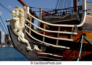 Pirate Ship 3 - Spanish pirate ship