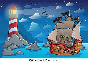 Pirate ship theme image 6