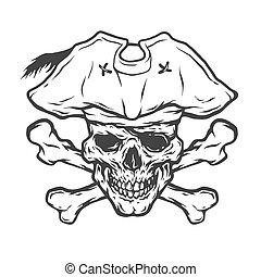 Pirate Skull and Crossbones.