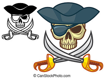 Pirate skull -  Pirate skull