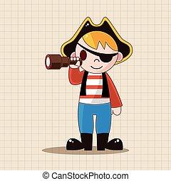 pirate theme elements