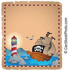 Pirate theme parchment 5