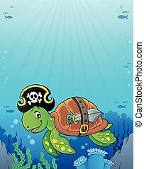 Pirate turtle theme image 3