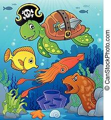Pirate turtle theme image 4