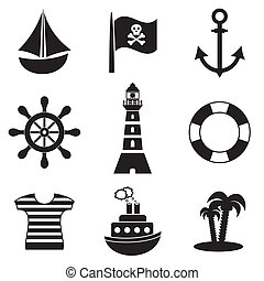 piraten, iconen