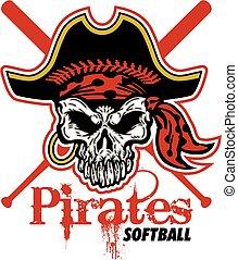 piraten, softbal