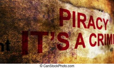 piraterie, il, crime