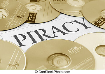 piraterie, mot, cd