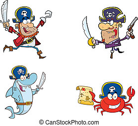 Pirates Characters Collection Set