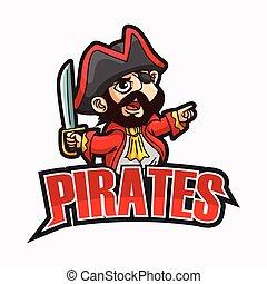 pirates illustration design