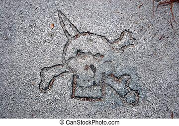 Pirates in stone