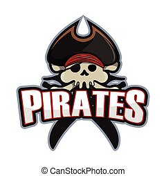 pirates logo colorful