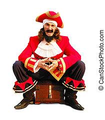 pirate's, skrzynia