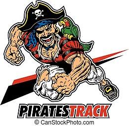 pirates track