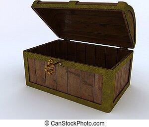 Pirates treasure chest