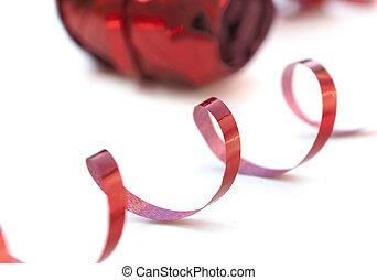 piros, bodorítás, szalag