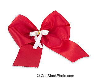 piros, bow.