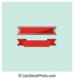 piros, háló, gyeplő, állhatatos, vektor, ábra