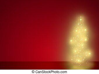 piros, karácsony