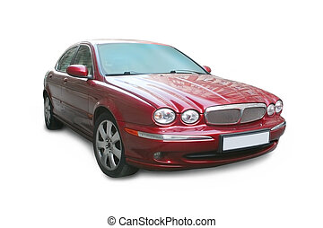 piros, luxury autó