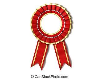 piros szalag, award.