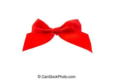 piros szalag, bow.