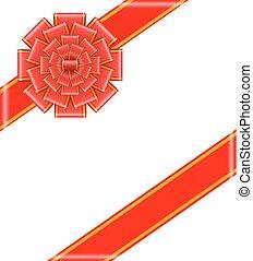 piros vonó, noha, gyeplő, vektor