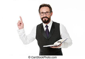 pisać, keeping, nuta, handlowy, shall, idea, do góry, na dół, jedyny, this., palec, notebook., dostay, odkrycie, nowy, natchnienie, otwarty, człowiek