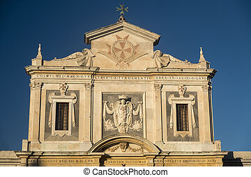 pisa, 歴史的, 教会