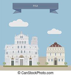 Pisa, city in Tuscany, Central Italy