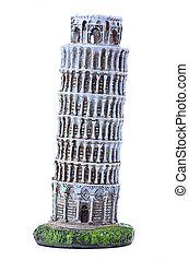 Pisa Tower souvenir - Souvenir Leaning Tower of Pisa on a...