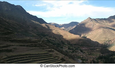 Pisac ruins time lapse
