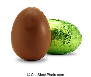 pisanka, czekolada