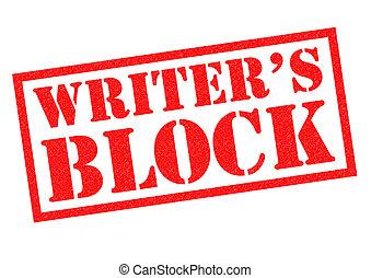 pisatel blokáda