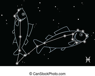 Pisces, the twelfth astrological sign in the Zodiac,...