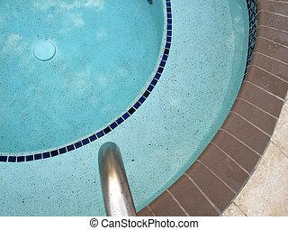 piscina, aguas, calma, golfo, méxico