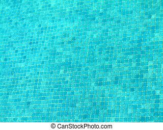 piscina, azulejos