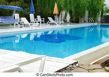 piscina hotel, natação