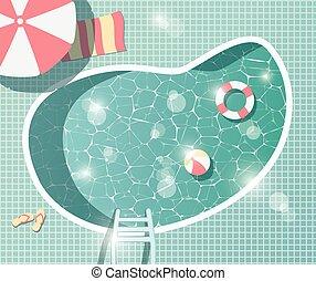 Patr n turquesa auriculares plano de fondo vectores for Auriculares para piscina
