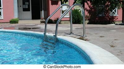 piscine, échelle