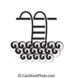 Images eps clipart vecteur de nager 39 854 illustrations - Clipart piscine ...
