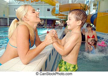 piscine, natation