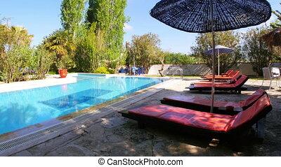 """piscine, voyage, destination"""", recours, vacances, """"empty"""