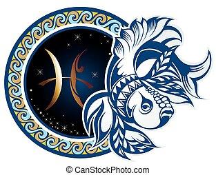 piscis, zodíaco, -, señales