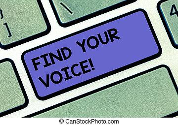 pismo, tekst, znaleźć, twój, voice., pojęcie, treść, istota, zdolny, do, ekspres, siebie, jak, niejaki, pisarz, żeby rozmawiać, klawiatura, klucz, intention, żeby stworzyć, komputerowa wiadomość, groźny, keypad, idea.
