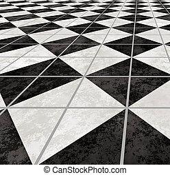 piso de mármol