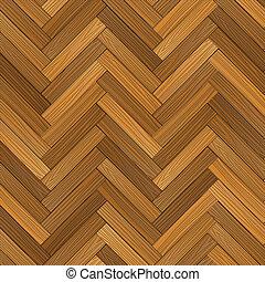 piso parqué, vector, madera