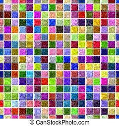 piso, rojo, lleno, plano de fondo, espectro, lechada, púrpura, ocre, patrón, blanco, malva, taupe, mármol, mosaico, azul, vibrante, beige, caqui, magenta, seamless, verde, rosa, violeta, marrón, color, amarillo, -, cuadrado, arco irirs, superficie